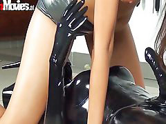 Riding slut, Riding crazy, Slut riding, Latex slut, Goes crazy, Crazy ride