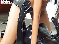 Riding slut, Riding crazy, Slut riding, Latex slut, Goes crazy, Crazy ride