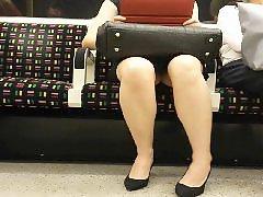 Upskirt stocking, Upskirt train, Stockings upskirts, On a train, Train upskirt, Train upskirts