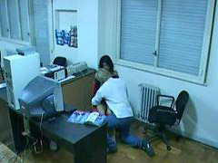 Hidden office, Webcam office, Office webcam, Hidden webcam, Hidden caught, Bumping