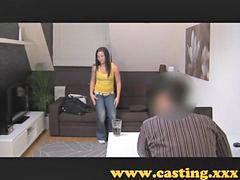 Casting, Creampie, Model