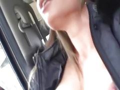 Car masturbation, Shaved asian milf, Masturbation in car, Toy horny, Wild in, Play in