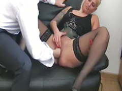 Boss bitch, She boss, Masturbation squirt, Shes boss, Fist squirt, Squirting blondes