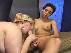Bbw, Strapon, Lesbian