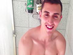 게이샤워, 솔로샤워, 샤워장면도, 게이목욕탕, 샤워하다, 갸루