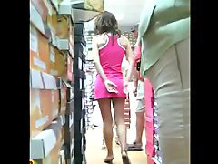 Upskirt shopping, Shopping upskirt, Shoes shop, Shoe shopping, Shoe shop, Shops