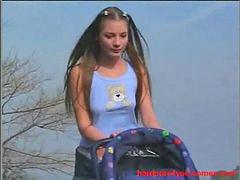 Public, Teen, Teen brunette, Brunette teen, Teen public, Public teen