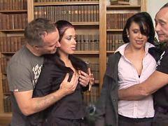 Foursome, British slut hannah in a foursome, Foursomes, Hannah h, Hannah c, Foursomers