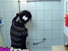 سکس در حمام