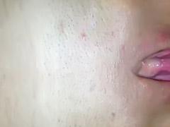 Masturbing pussy