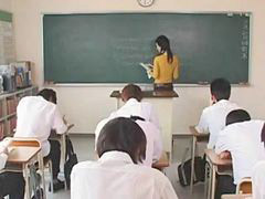 Maria ozawa, Teacher, School