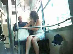 Bus, Upskirt, French, Upskirts, Fre, Ups
