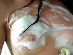Take shower, Take a shower, Shower hot, Nice blowjob, Facial hot, Blowjob shower