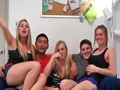 3some, Amateur college, Girls having sex, Party amateur, Blowjob party, Amateur party