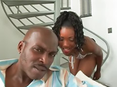 Ebony black, Big black asses, Black asses, Phat, Shaved cock cumming, Ebony threesome